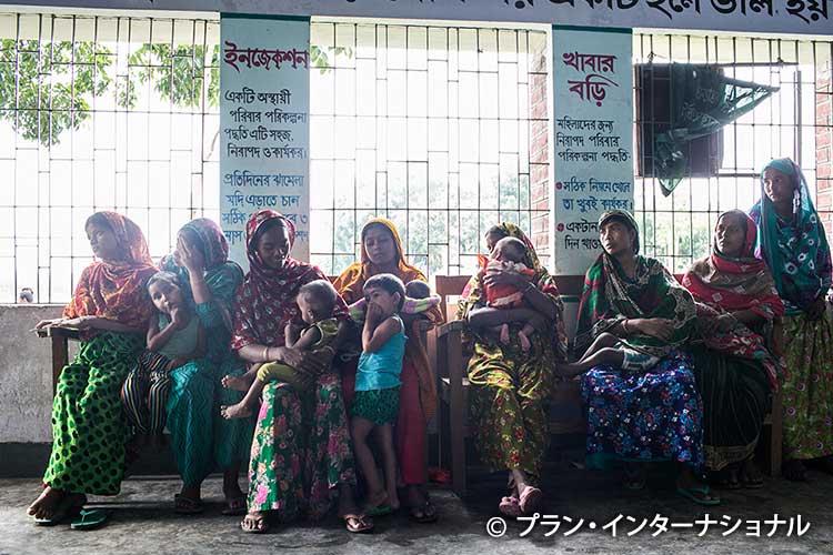 写真:簡易保健所の整備