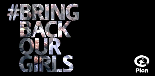 写真:#BRING BACK OUR GIRLS